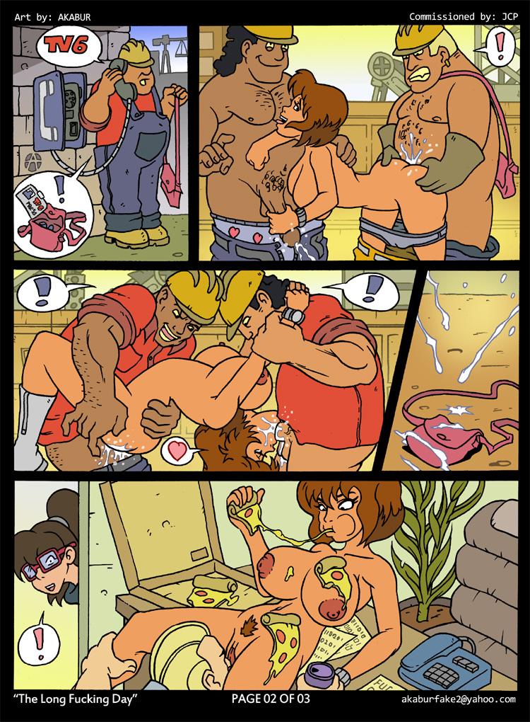 Порно черепашки комикс