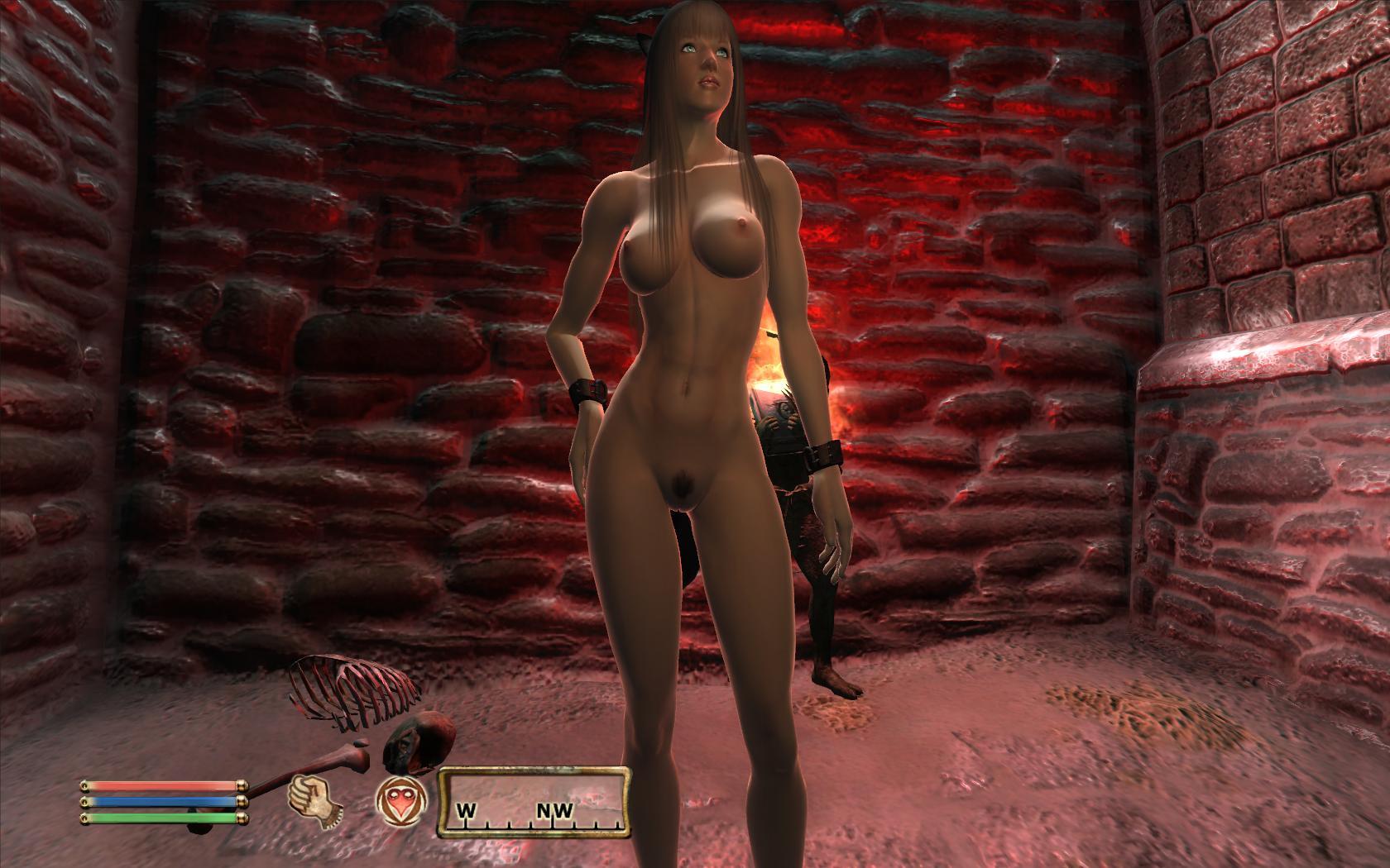 Oblivion Nude Mod Pis Adult Photo