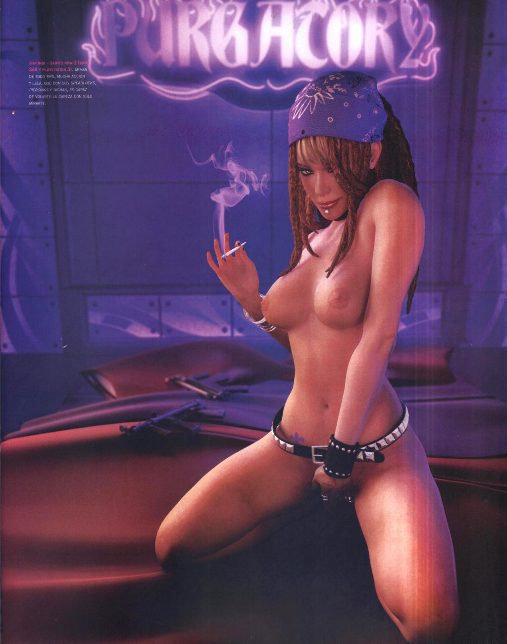 Saint row footjob naked images