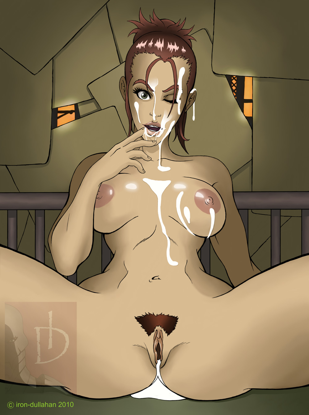 Moira brown hentai erotic pic