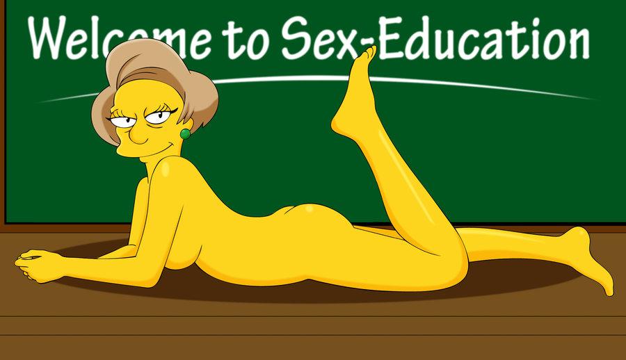 Барт и учительница порно фото 536-126
