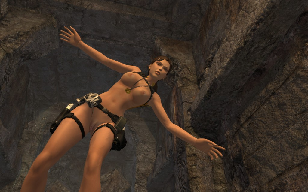 Tomb raider legend naked desnuda