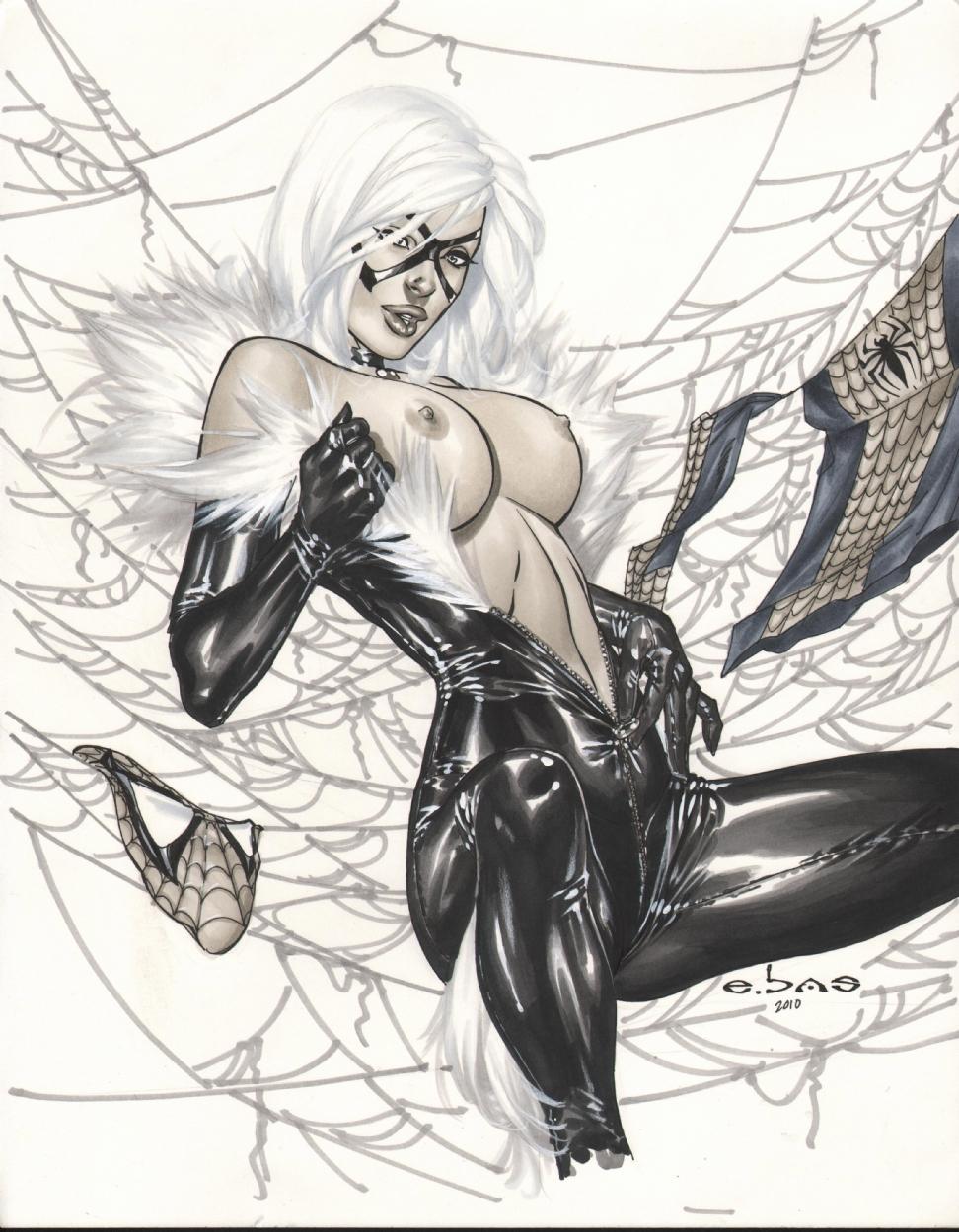 Человек паук и черная кошка секс 16 фотография