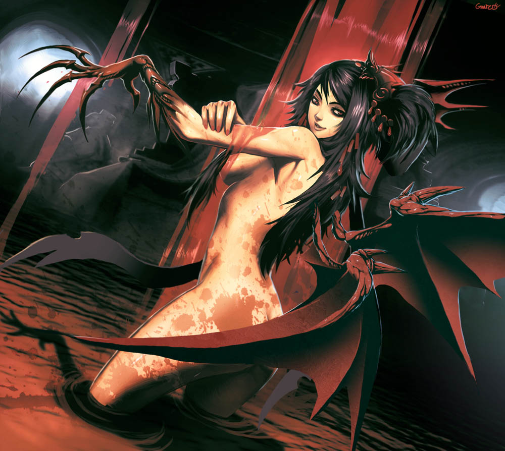 Sexy nude vampire girls game hentia photo