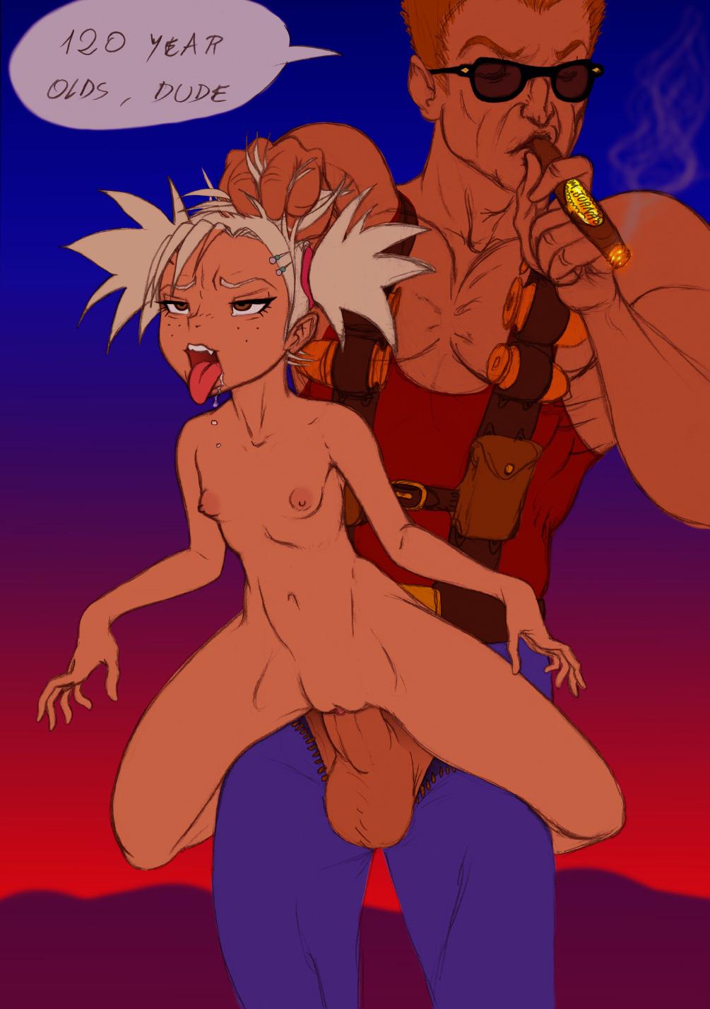 Cartoon porn duke nukem erotic picture