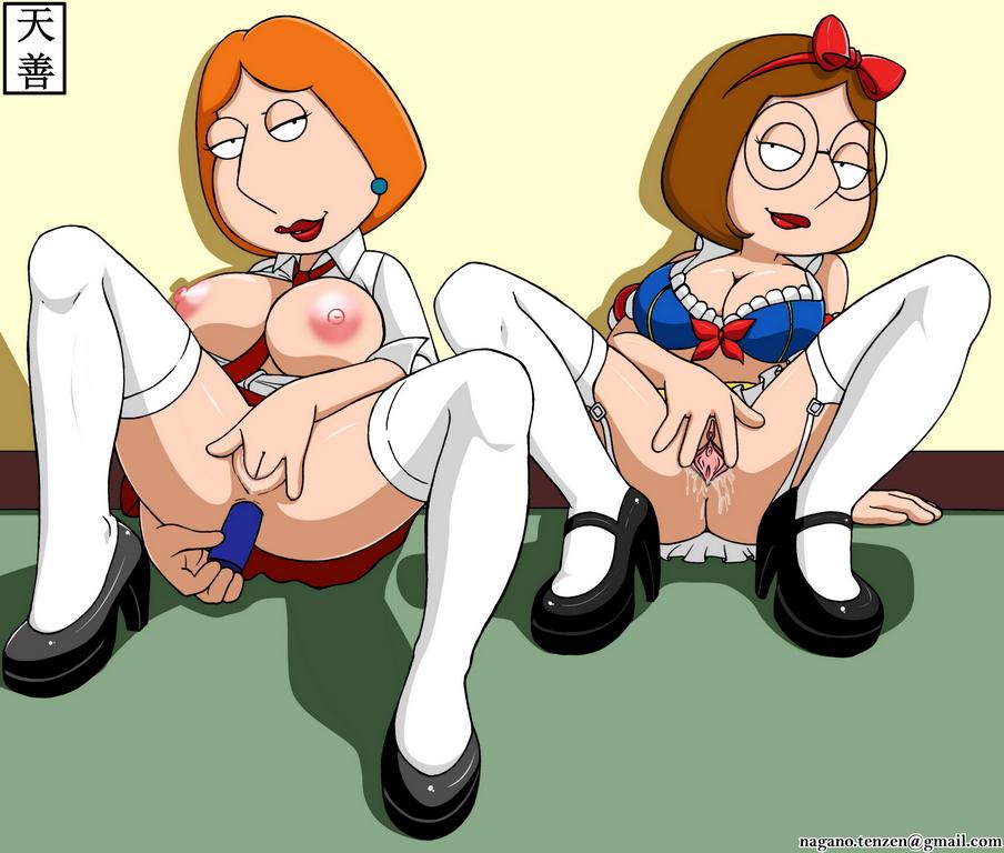 Meg griffin with lois lesbian