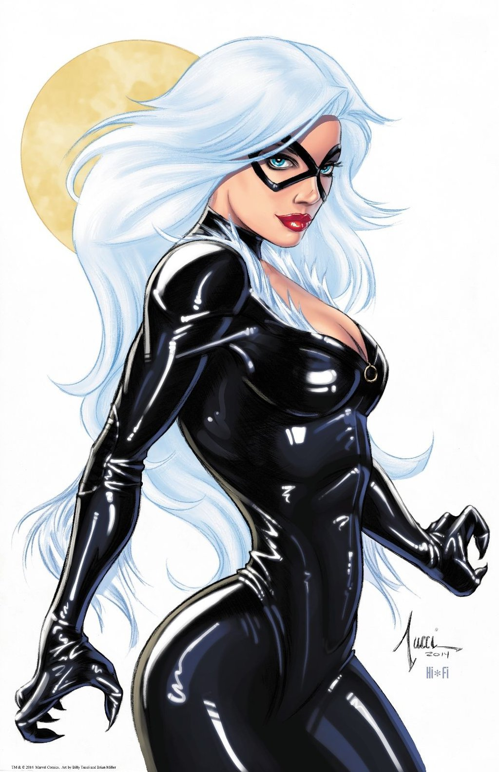 black cat marvel - HD1024×1585
