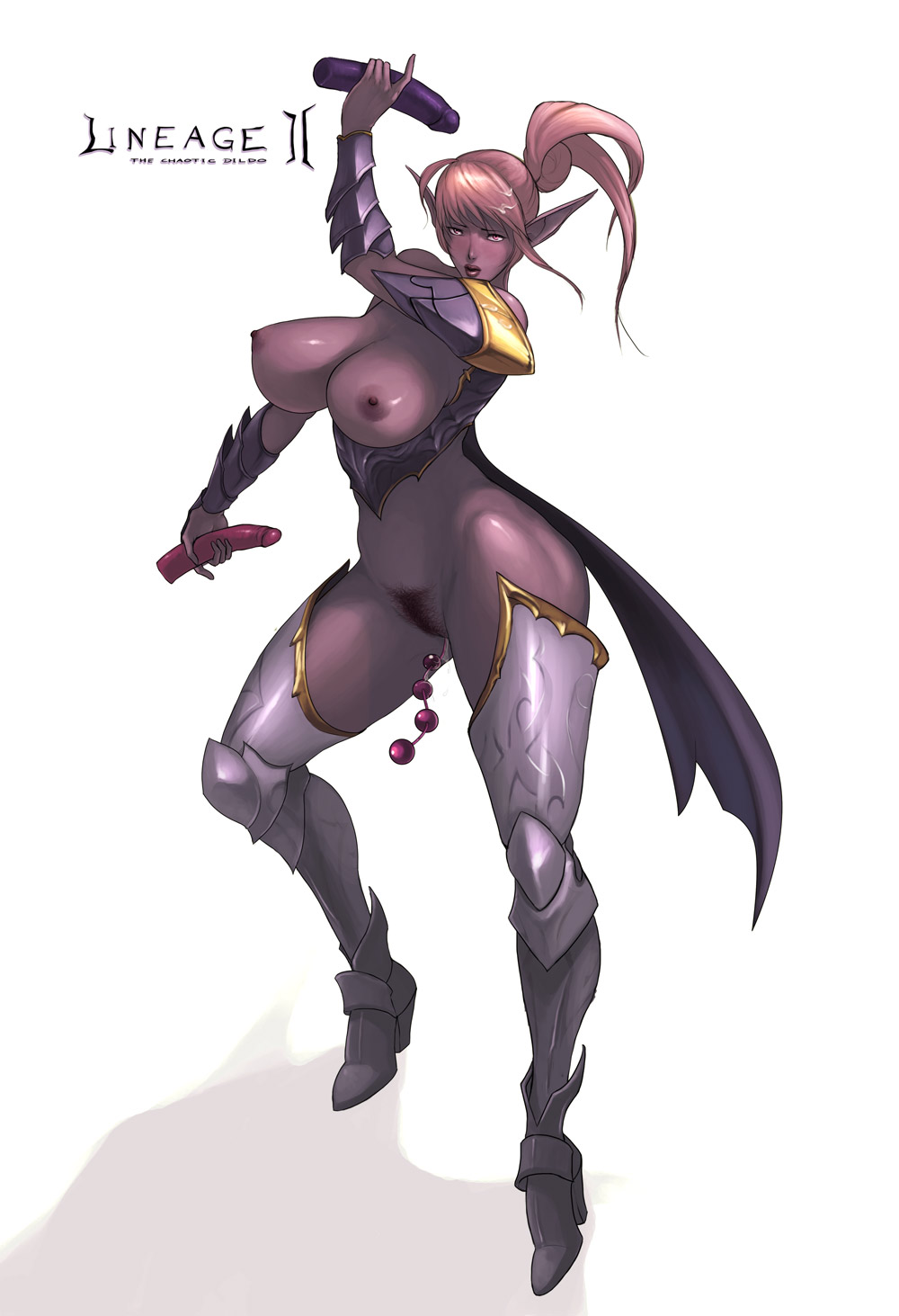 Lineage dark elf hentai sex scene