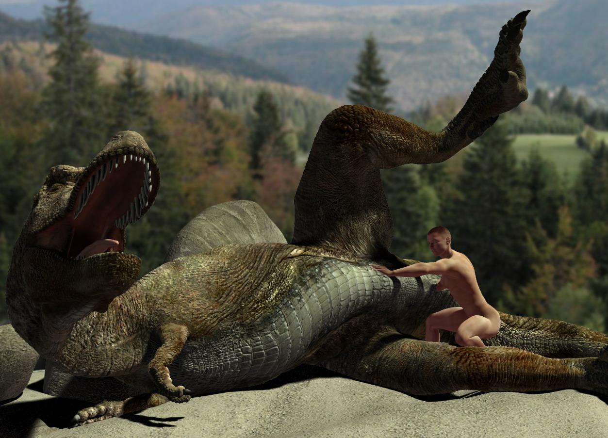 порно фильм про динозавров