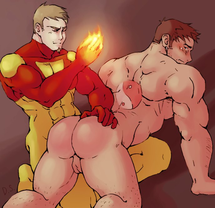 Гей Порно Комикс Огненная Бригада Пожарных