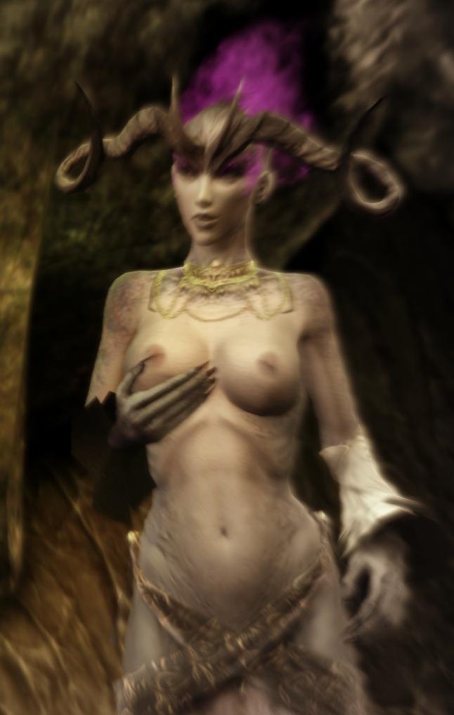Dragon age demon tits