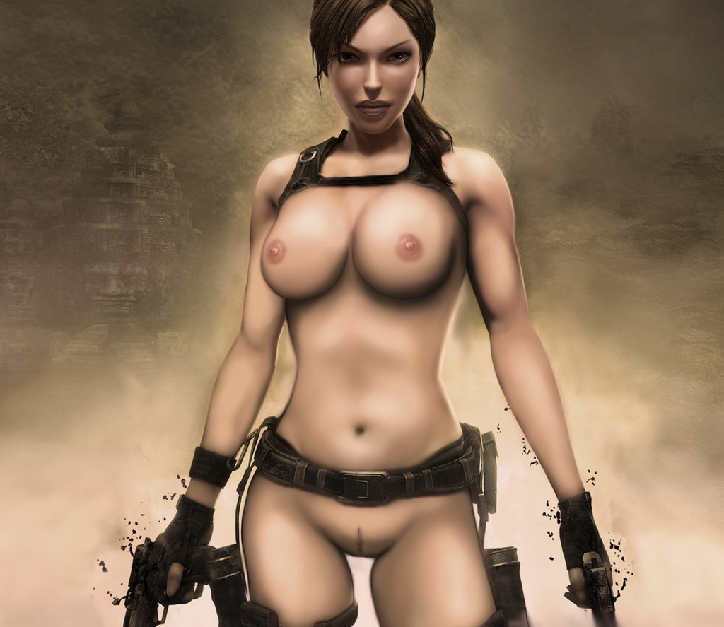 Lara croft naked video sexy images
