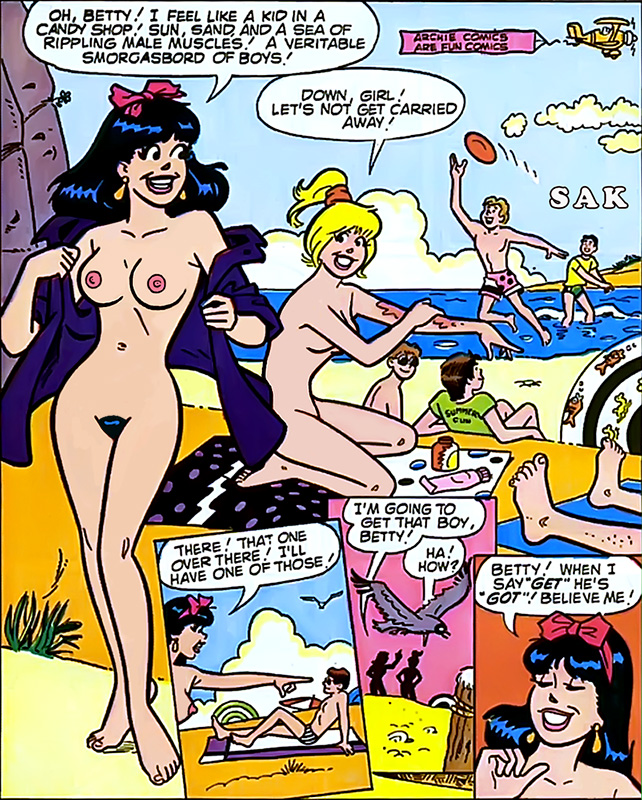archie comics betty and veronica nude № 53324