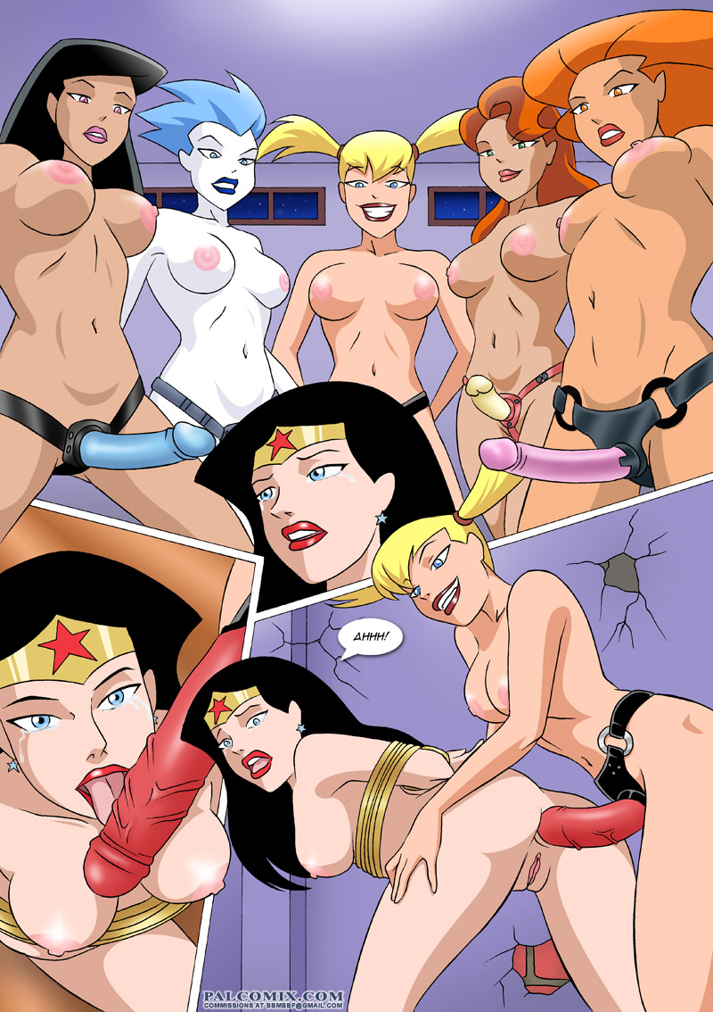 Wonder woman cartoon sex porn hentay video