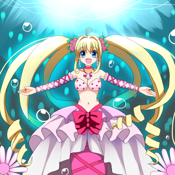Mermaid melody luchia and gaito
