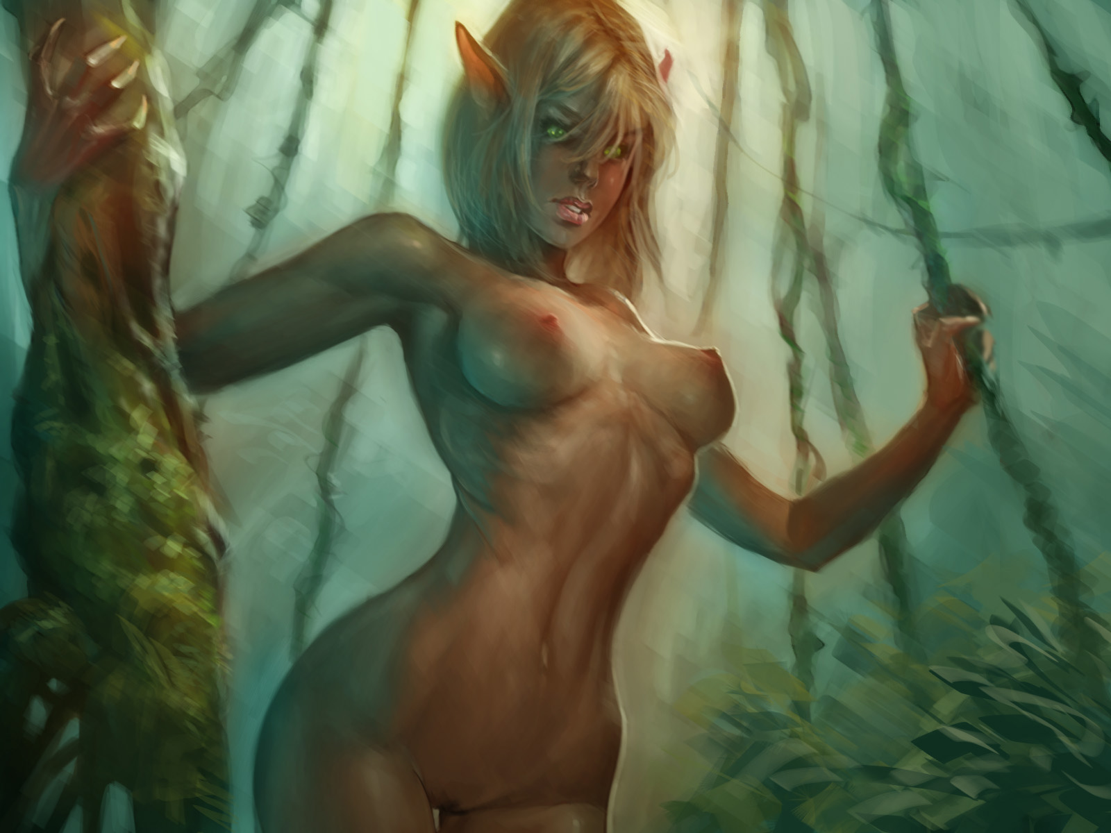 Naked girl elf pictures nackt photo