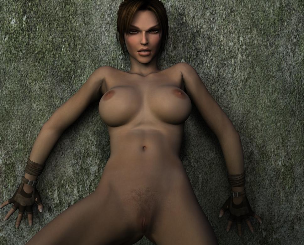 How to get lara croft naked