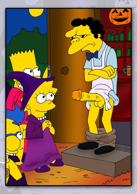 Simpsons milhouse gives bart a handjob crack