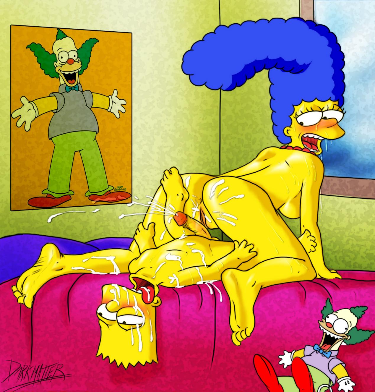 Marge and lisa porn comics