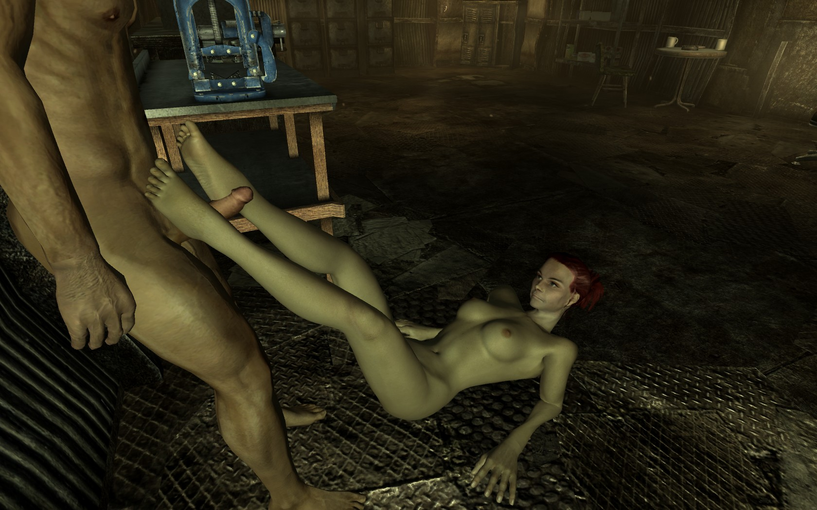 Fallout 3 moira brown nude exposed clip