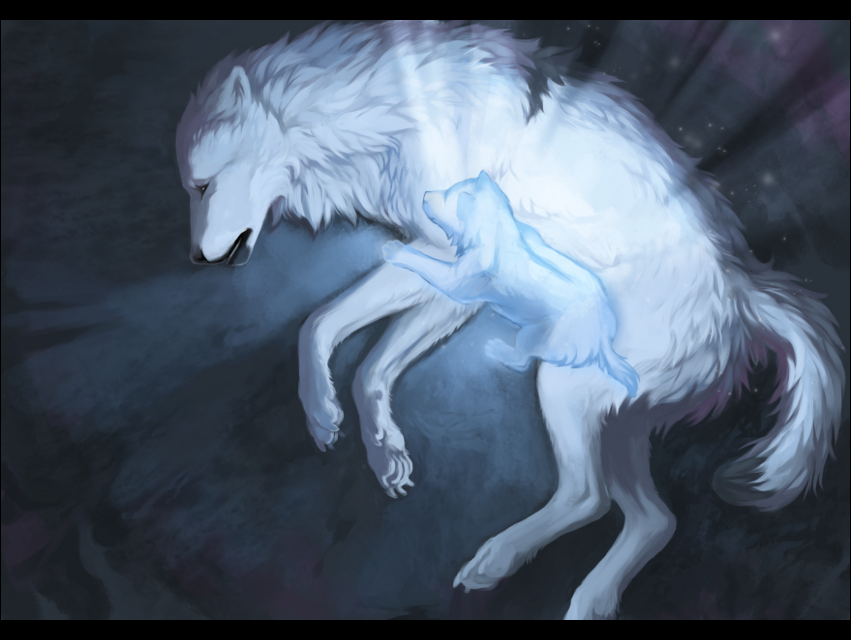 сделан картинки раненых волков собрали