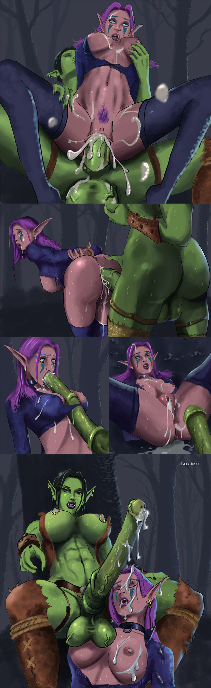 Warcraft orc raped hentai nude movie