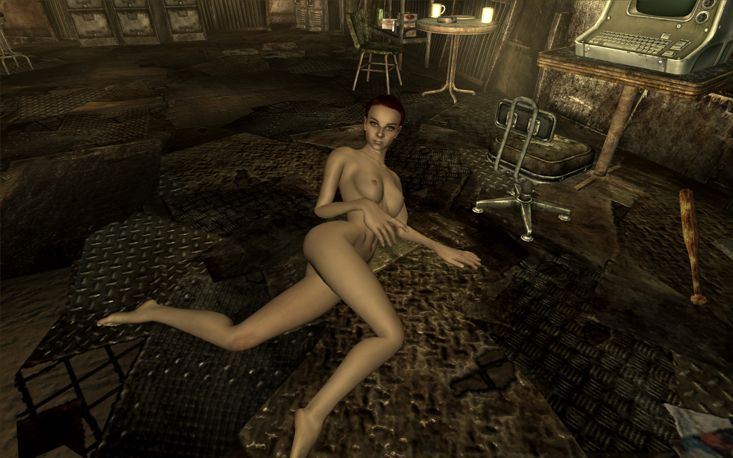 Moriah brown naked in fallout 3 fucks movies