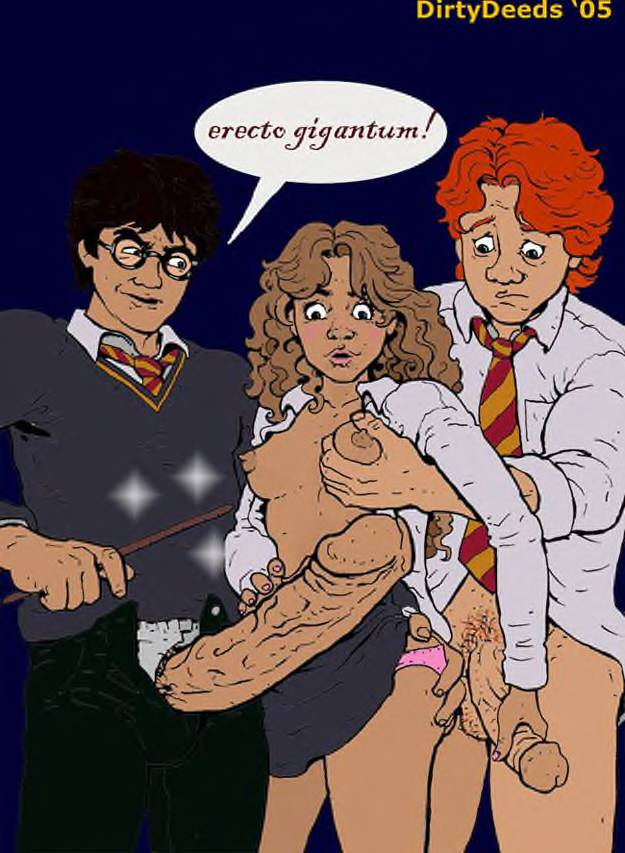 Harry potter and the cock blocking compulsion