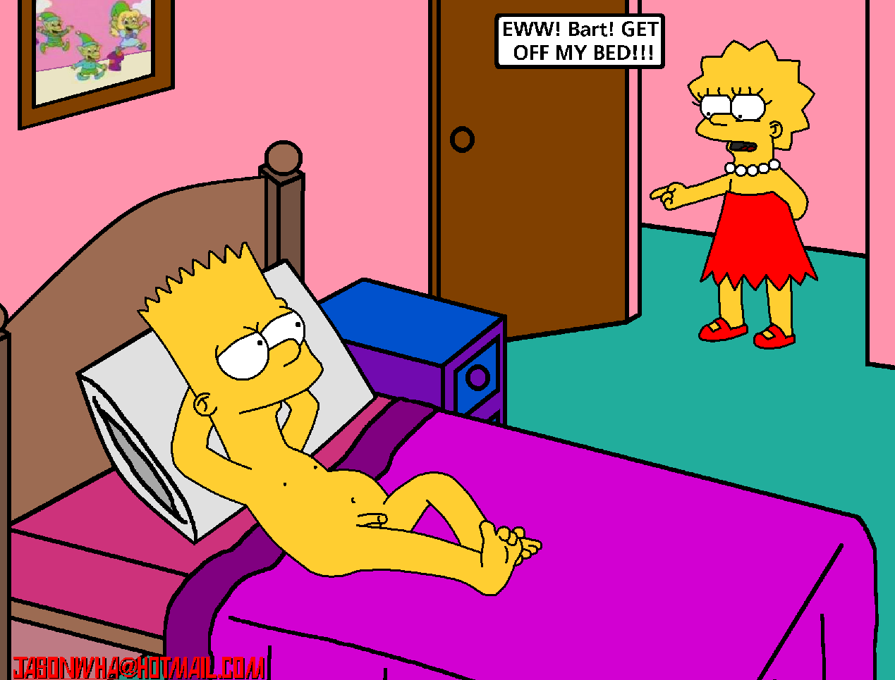 bart-simpson-naked-dick