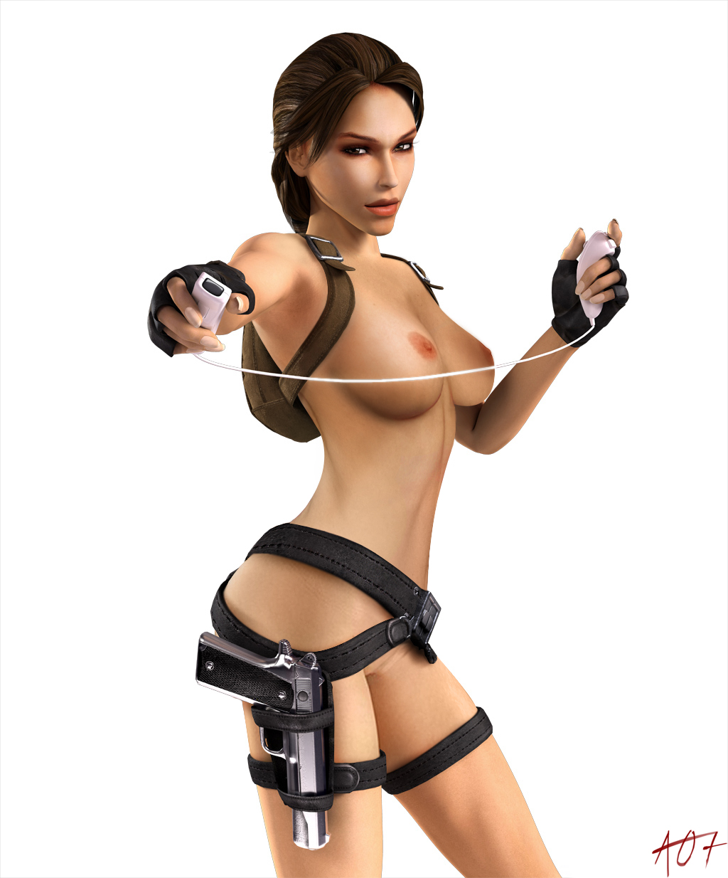 Nude skin of tomb rider anniversary softcore stripper