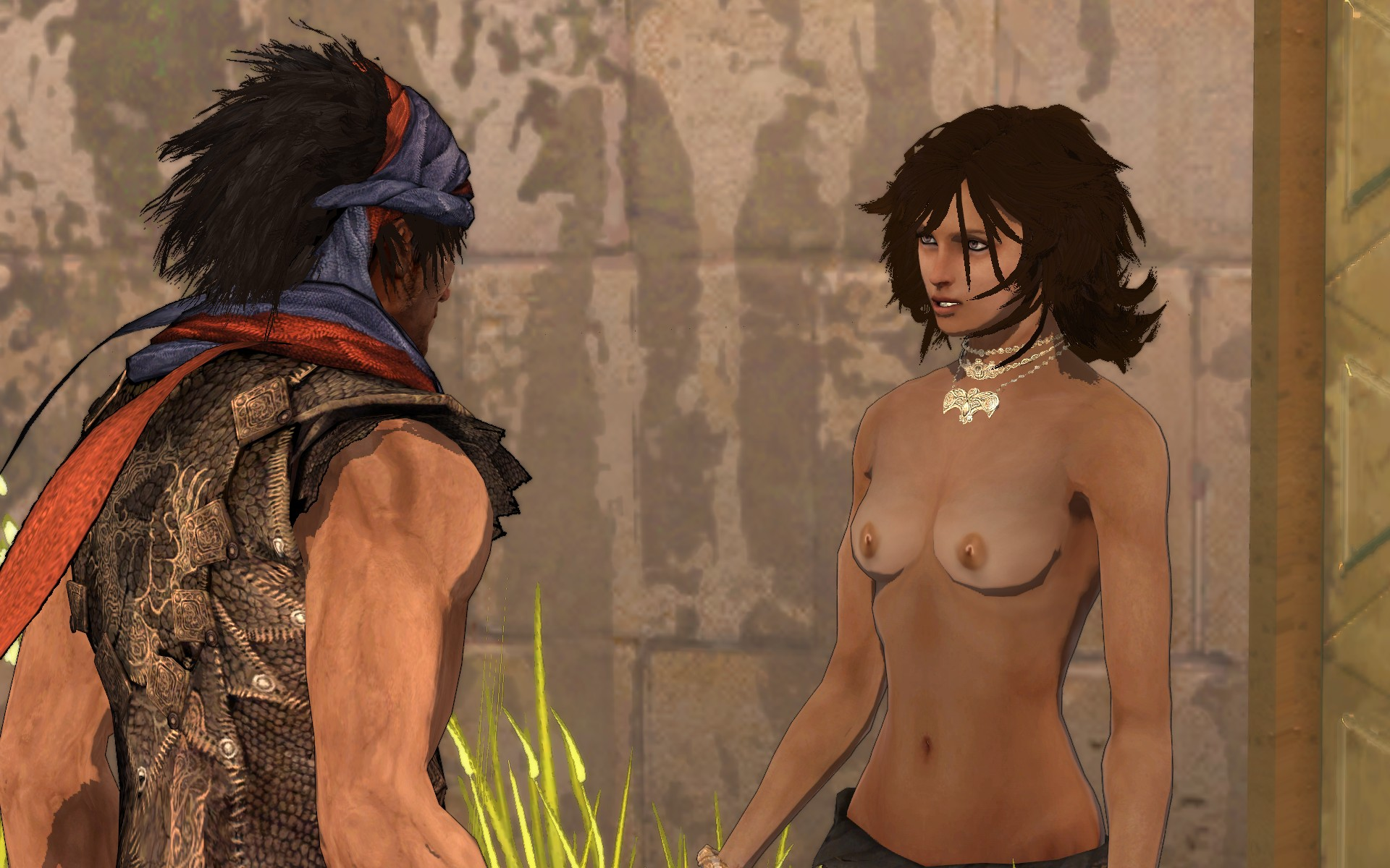 Hot sexy prince of persia charecters nude  sex pussies