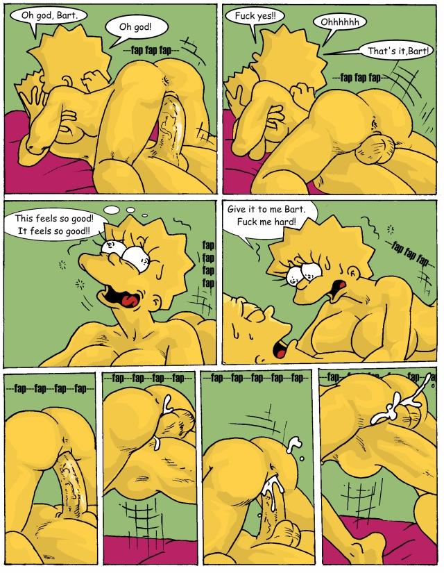 Барт симпсон порно комиксы