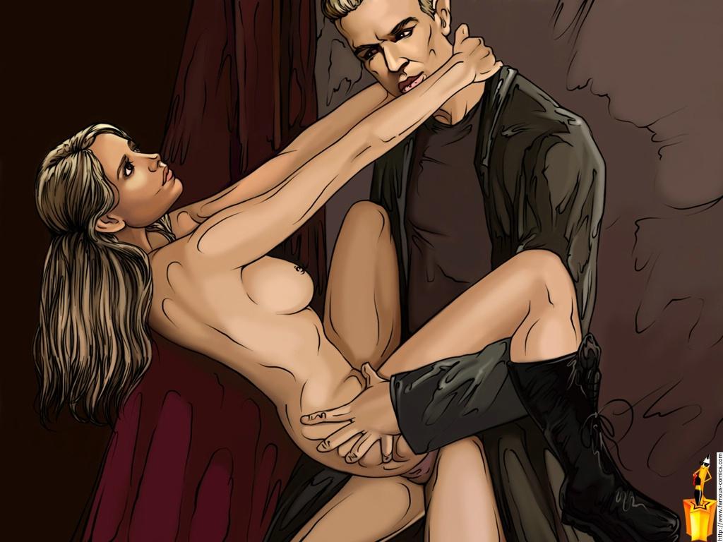 Вампиров русские порно пародии на