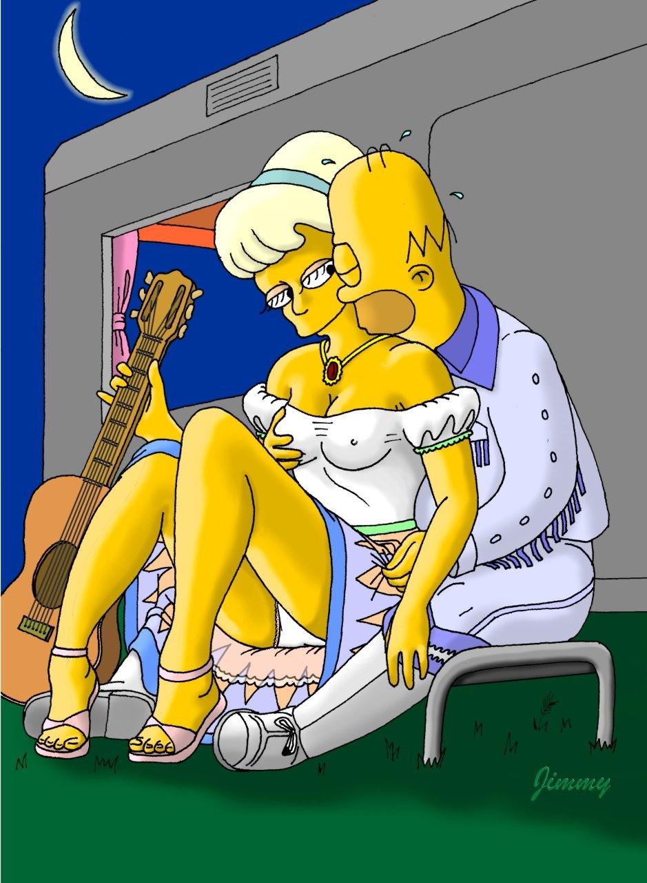 Симпсоны порно хентай 7 фотография