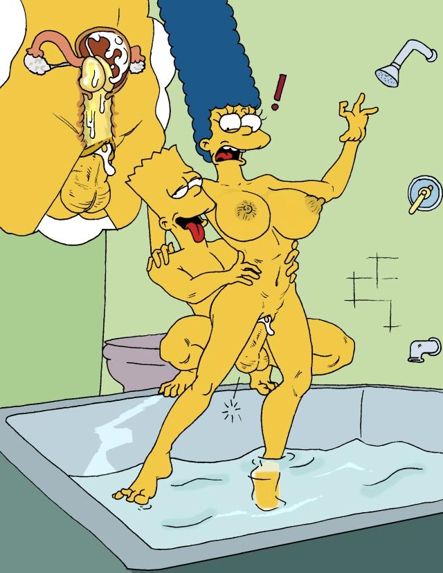 Bart simoson fucks marge simpson free sex pics