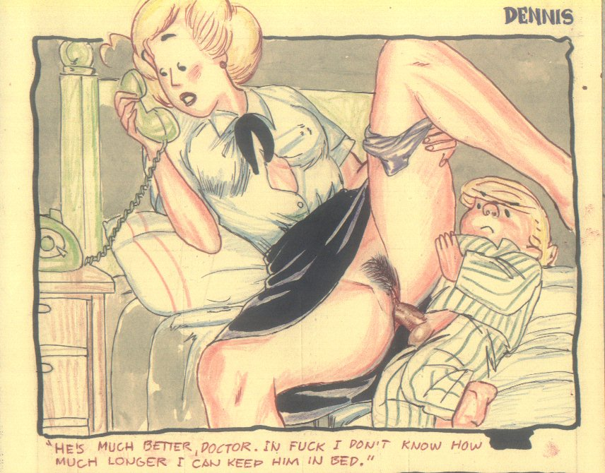 Ретро секс комиксы