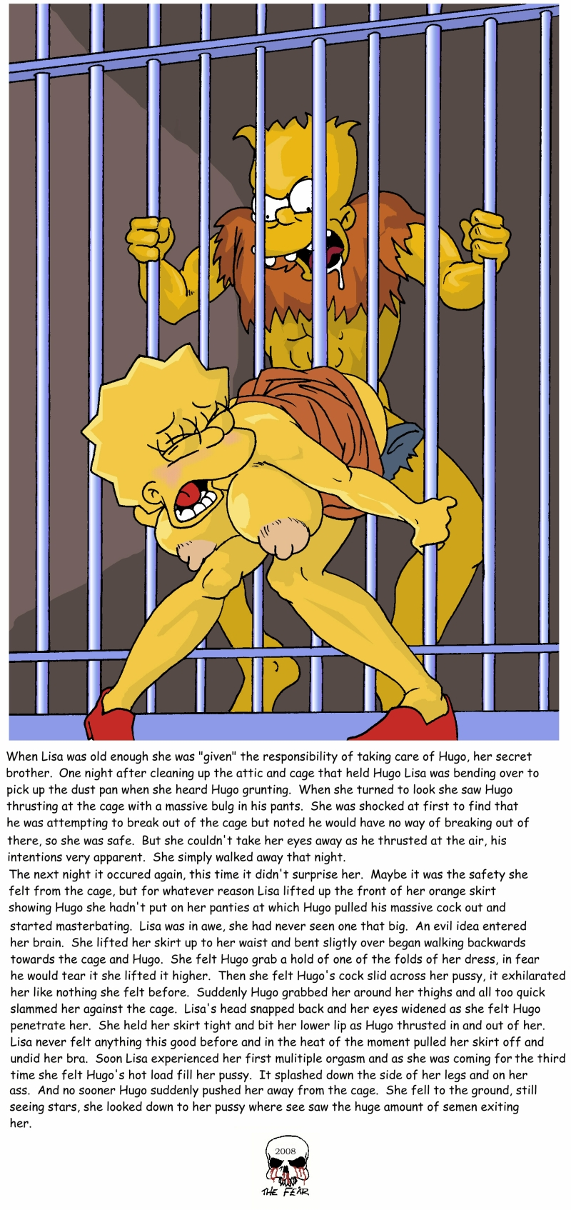 Lisa simpson masterbating cartoon hentia scene