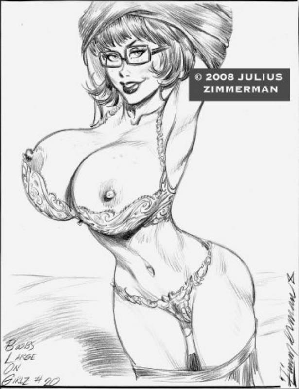 Велма рисунки порно карандашом джулиус циммерман 14870 фотография