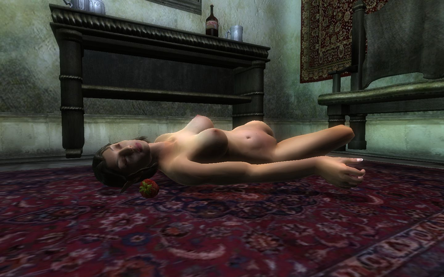Tes Oblivion Nude Patch Sexy Picture