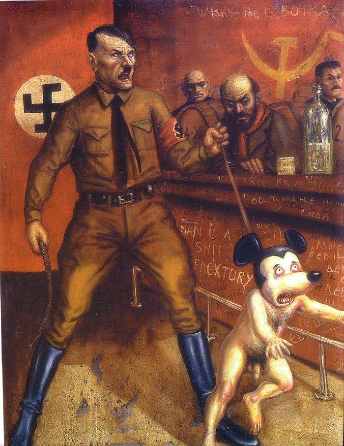 Порно комикс трах с гитлером и сталиным