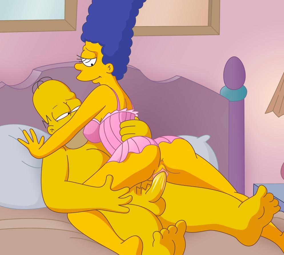 Simpson's xxx cartoon