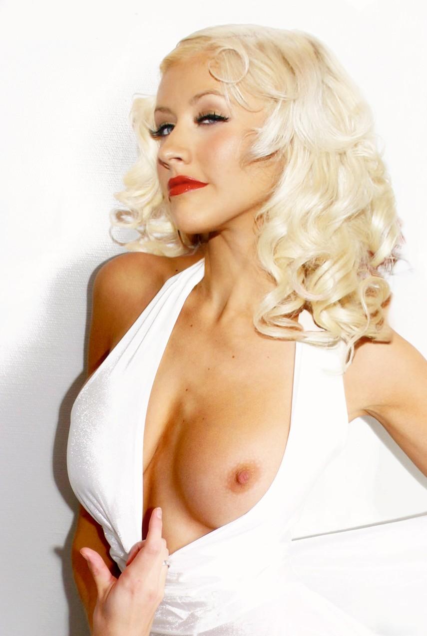 Christina aguilera nude gallery