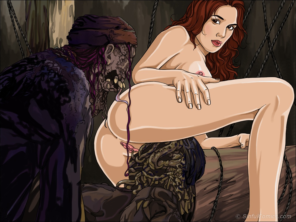 Pirates of the caribbean cartoon xxx sex  sexy clips