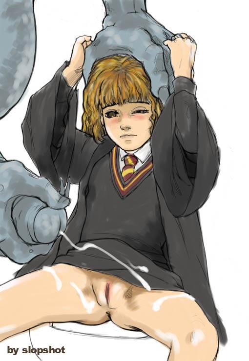 Гарри и гермиона порно в аниме