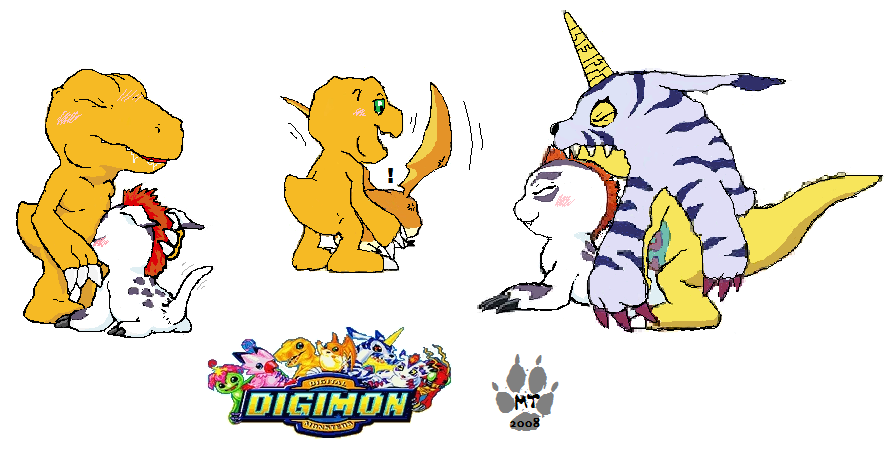 Digimon adventure bondage