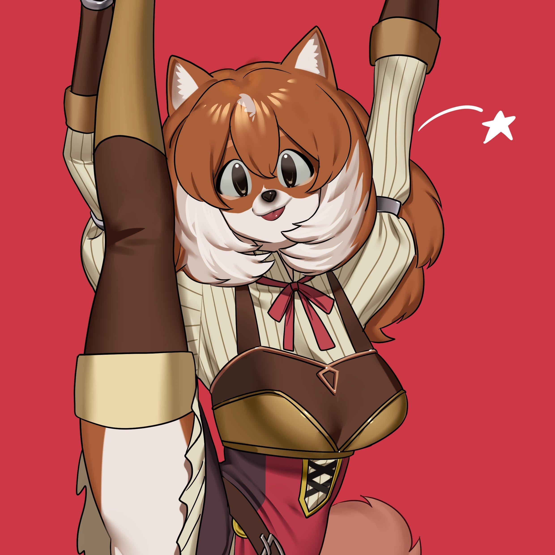 The Big ImageBoard (TBIB) - 1girl ahoge animal ears apron brown eyes brown hair cat ears cat