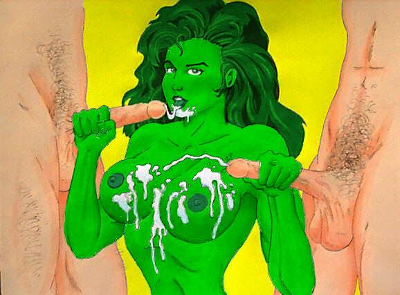 Fucking hulk gay