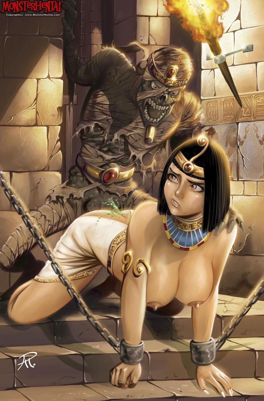 Смотреть порно мумия