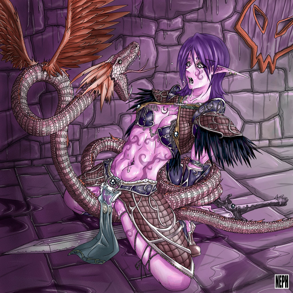 Night elf manga hentai sexy picture