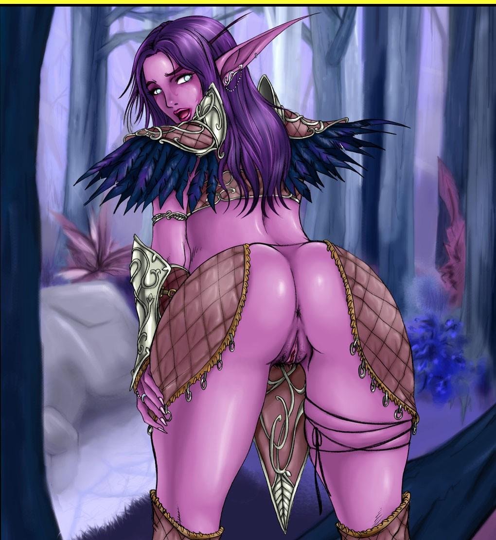 Night elf henti pics adult gallery